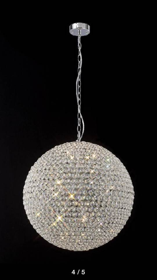 Crystal Ball Chandeliers Lighting