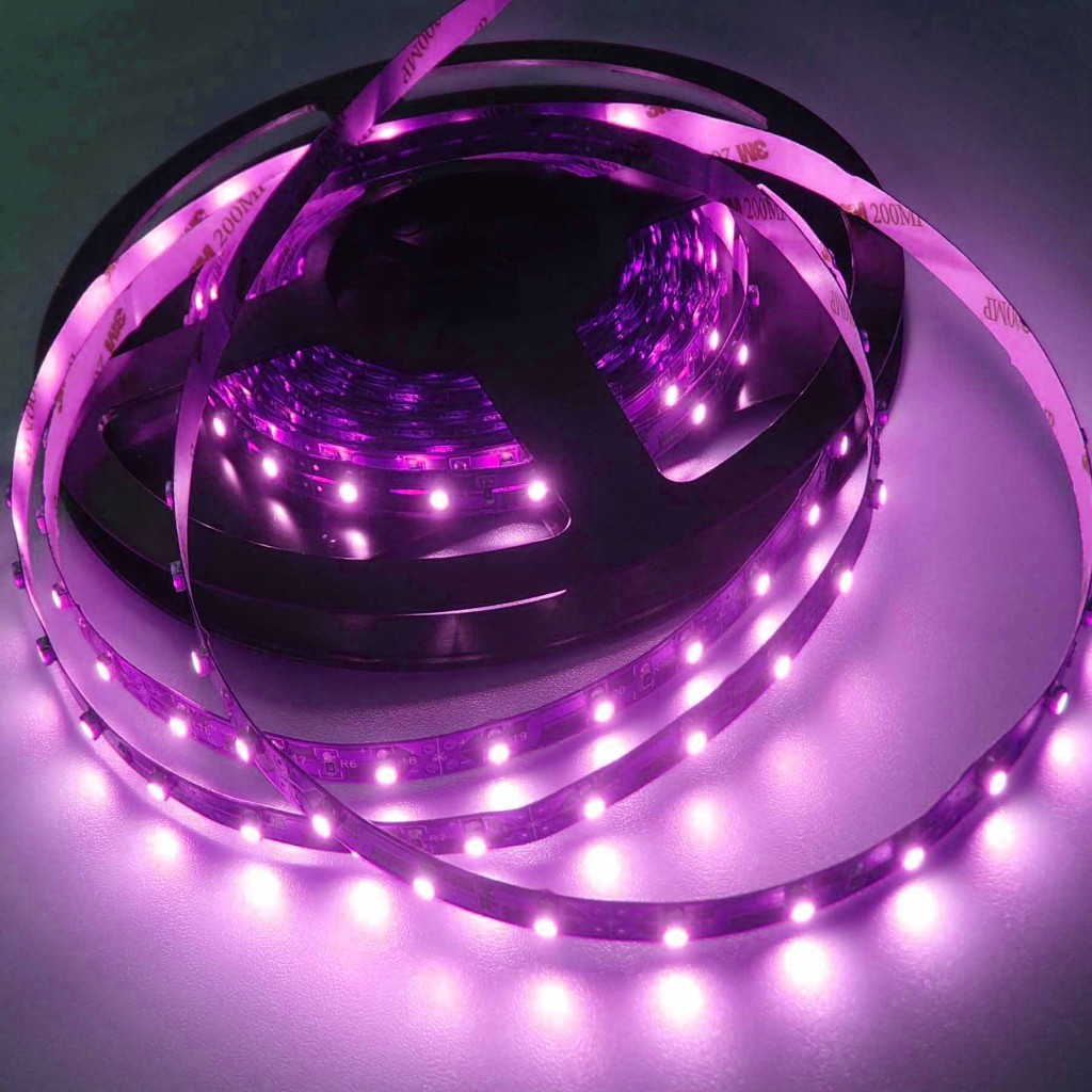 5m 16 4ft 3528 Smd Purple Pinkish 300 Leds Waterproof Ip65